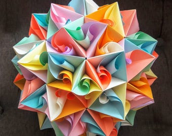 3d origami pieces instructions