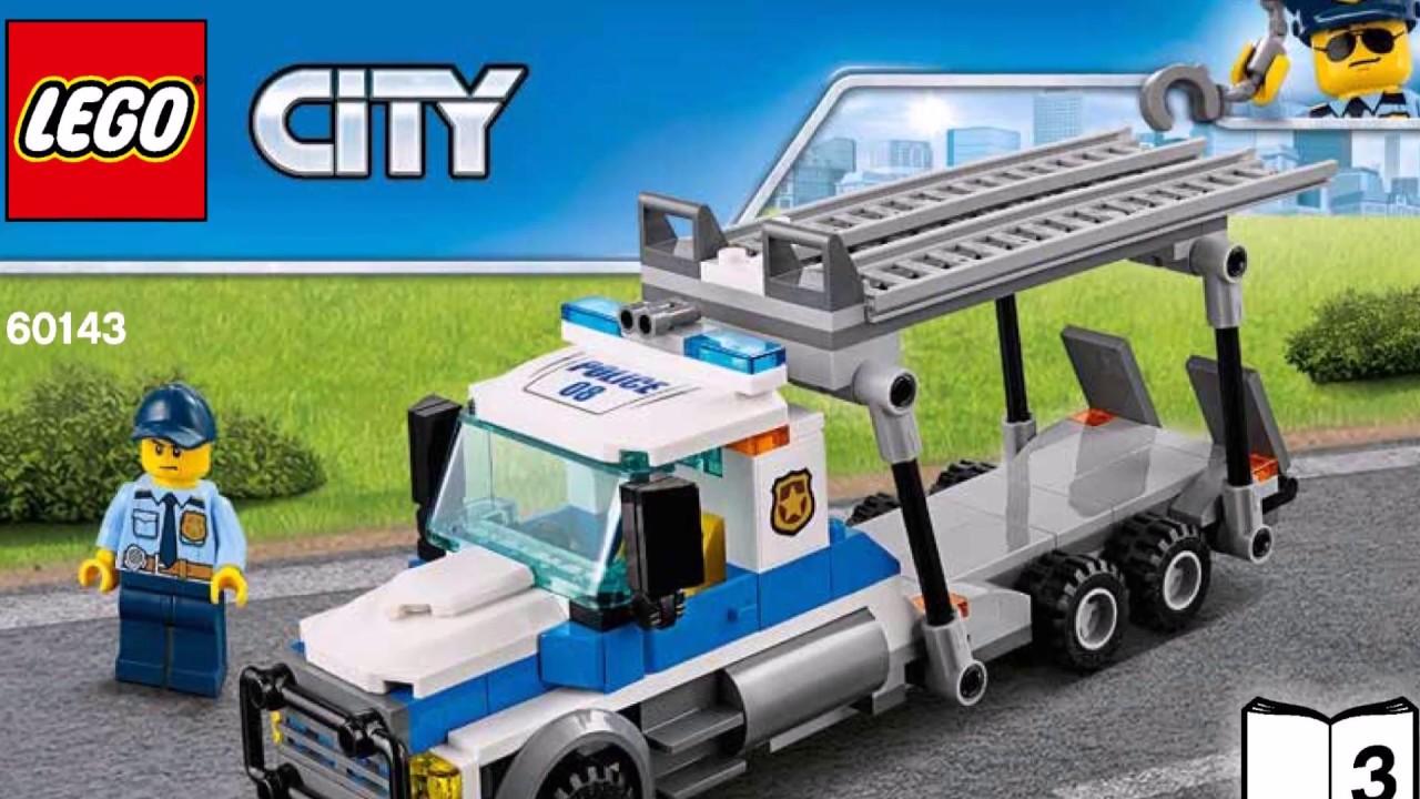 lego city car transporter instructions