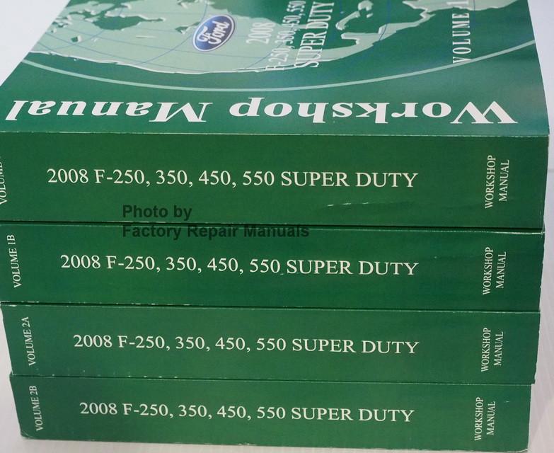 ford f250 service manual pdf