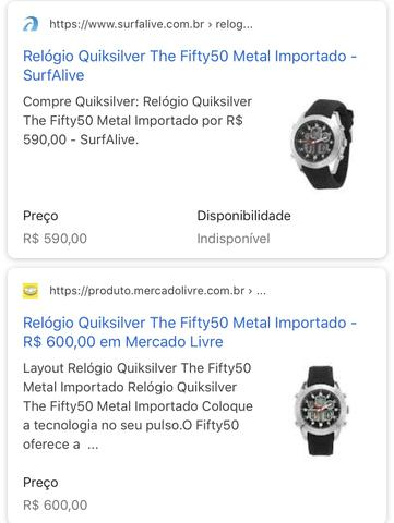 quiksilver fifty 50 watch manual