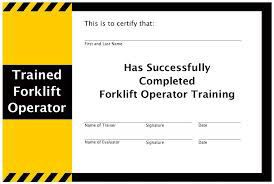 Forklift operator training manual pdf