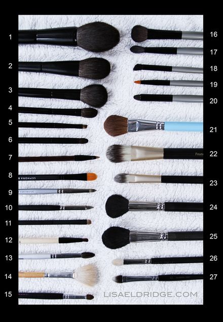 Lisa eldridge how to clean makeup brushes