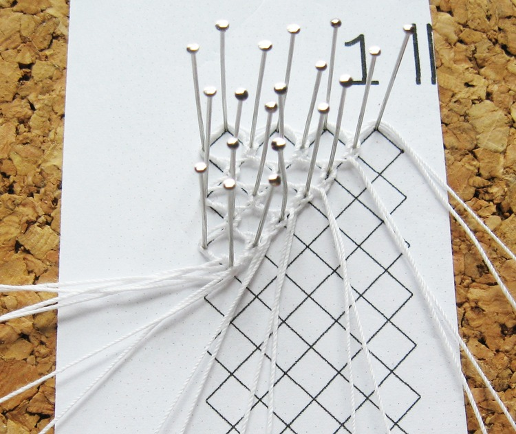 wire bobbin lace instructions
