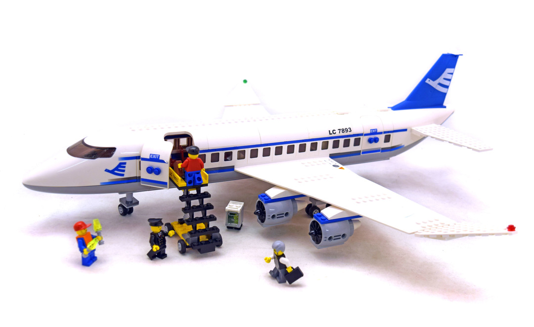 lego city plane 7893 instructions