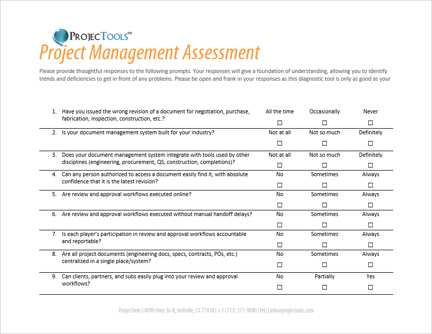 Risk assessment and management in construction projects pdf