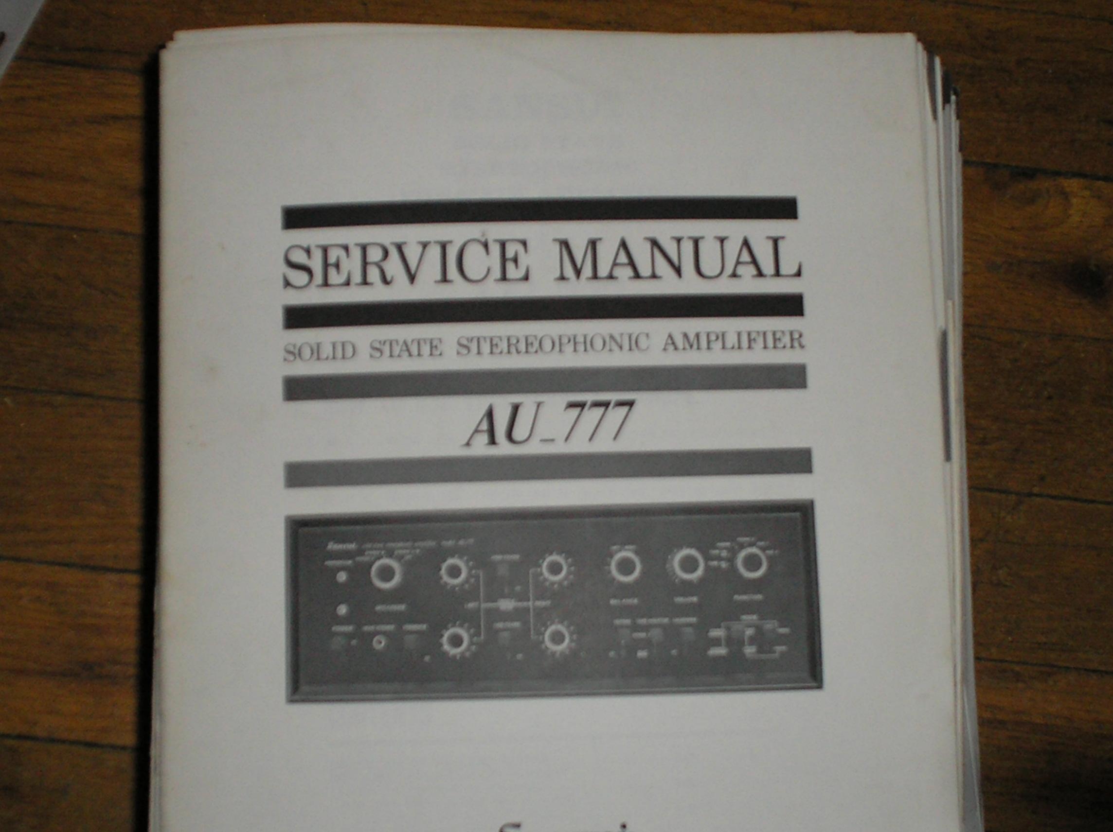 sansui au 777 service manual