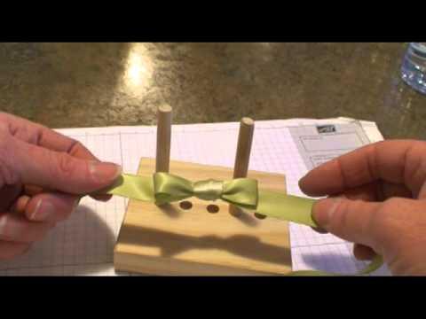 ribbon bow making instructions