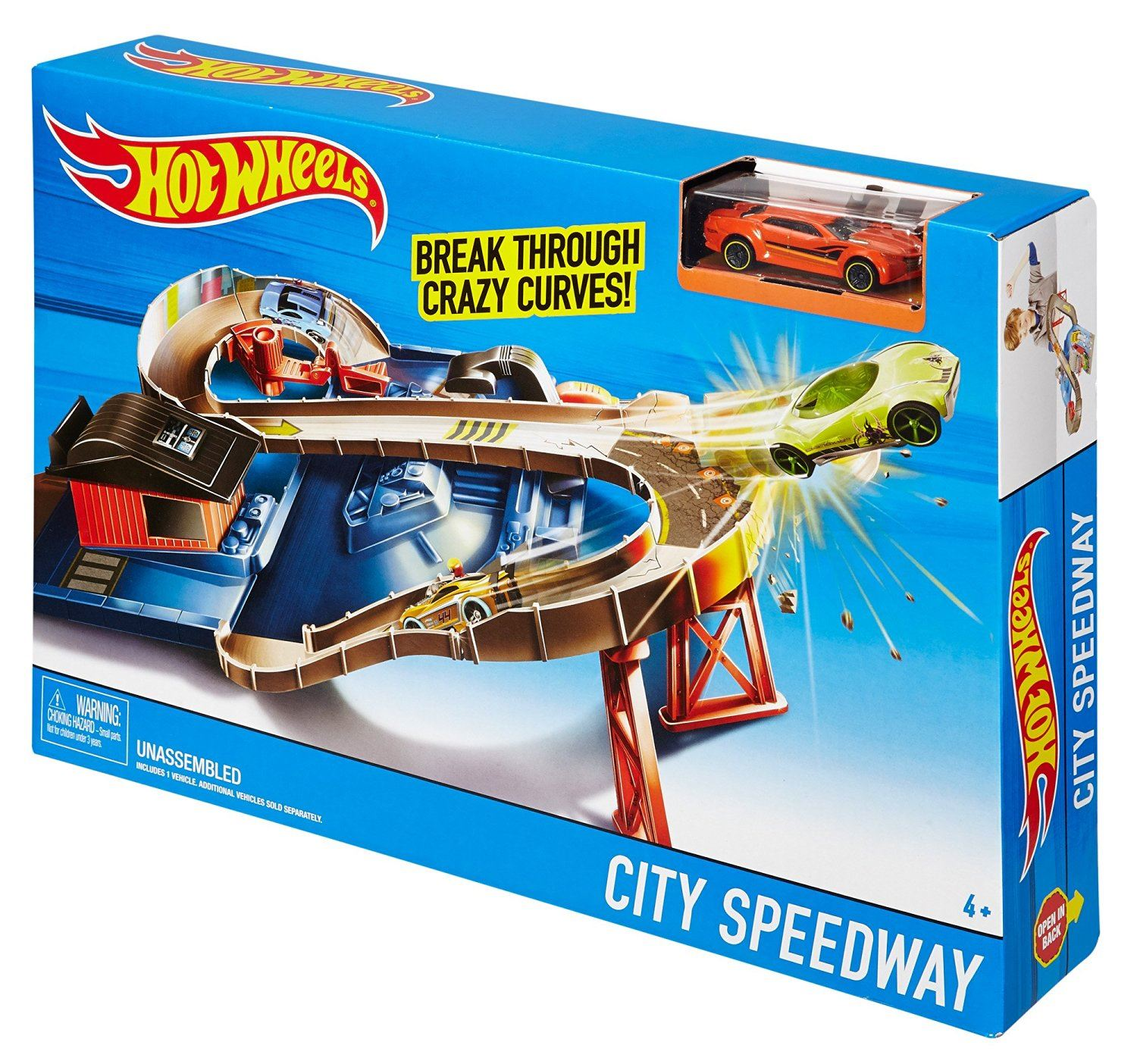 hot wheels city speedway instructions