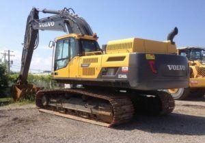 Volvo 210 excavator service manual pdf