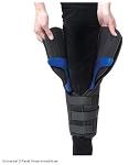 ossur knee immobilizer instructions