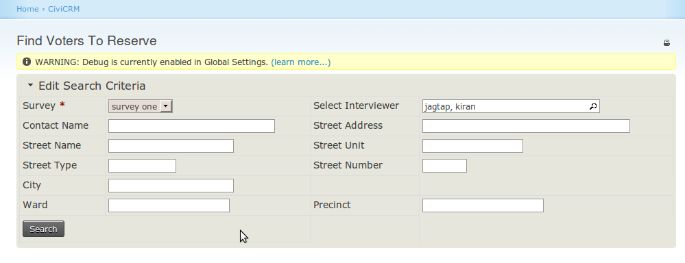 Civicrm how to create profile form