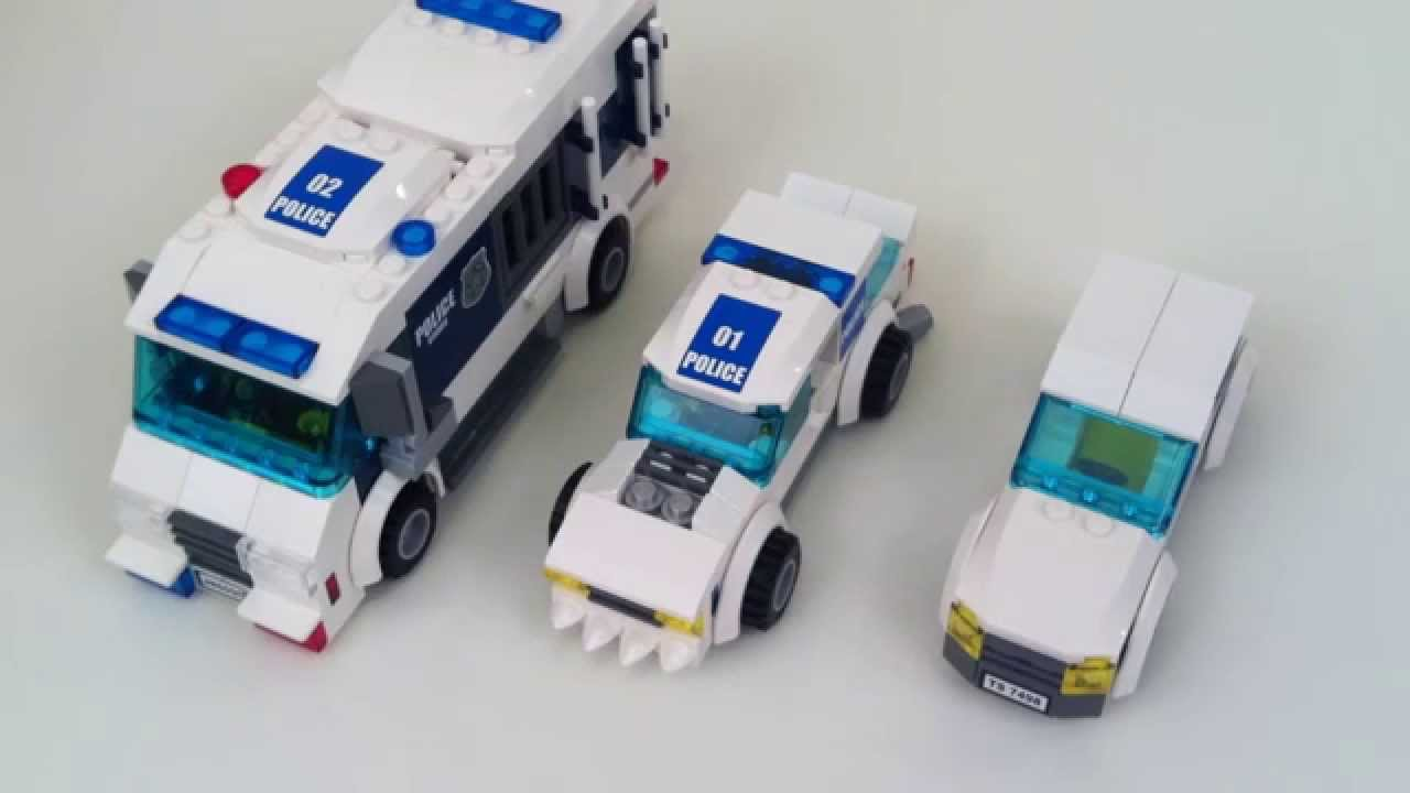 custom lego police station instructions