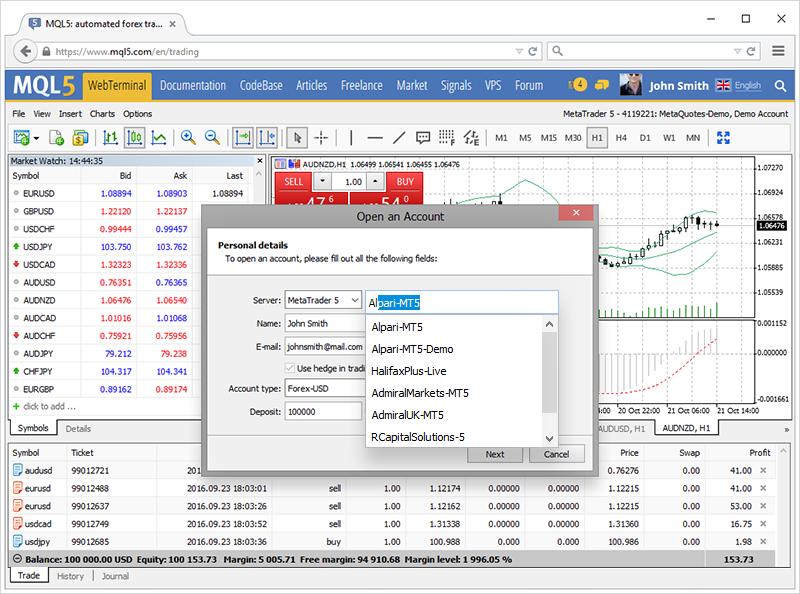 Metatrader 4 manager user guide pdf
