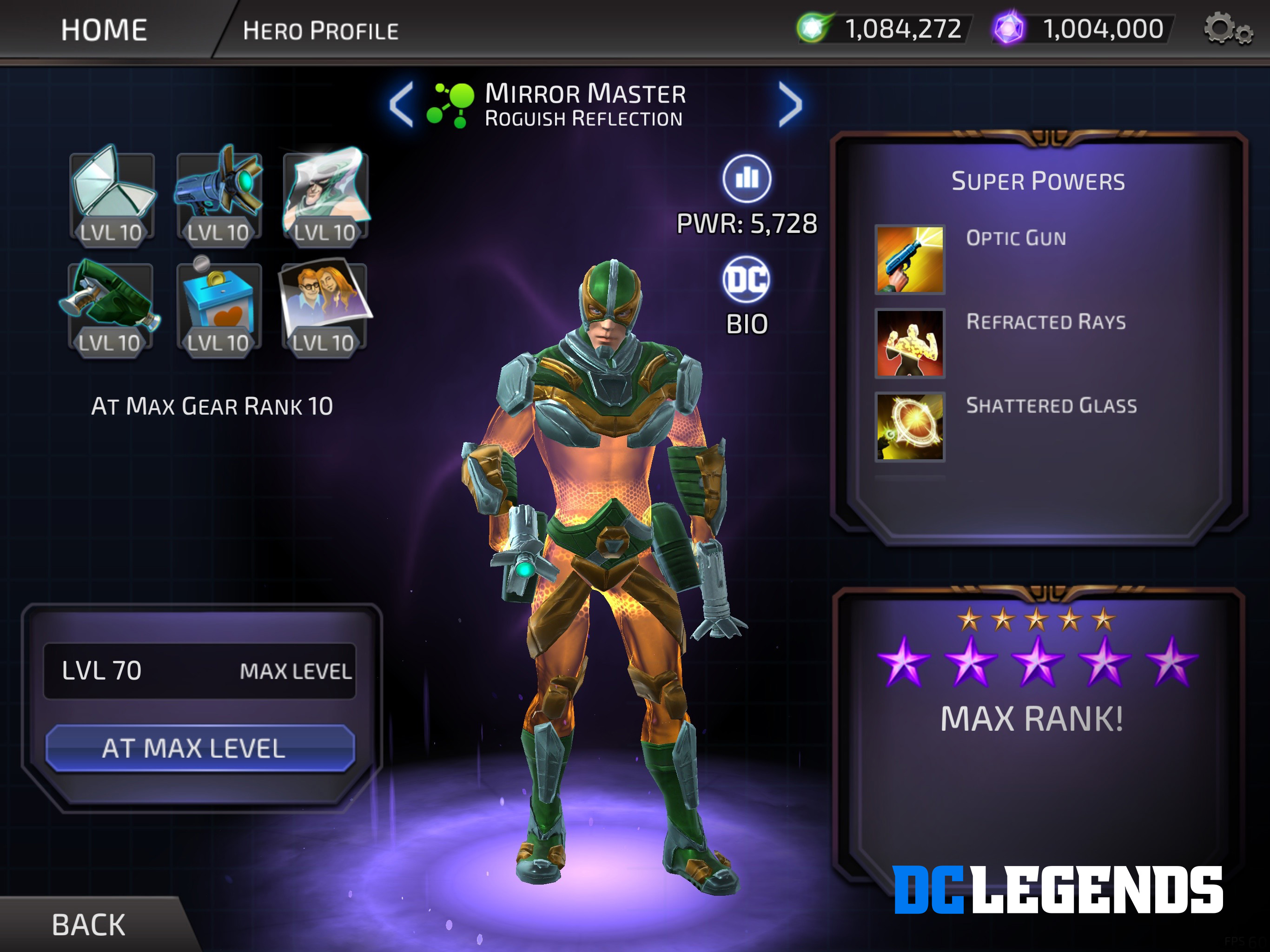 Dc legends how to get legendary essence