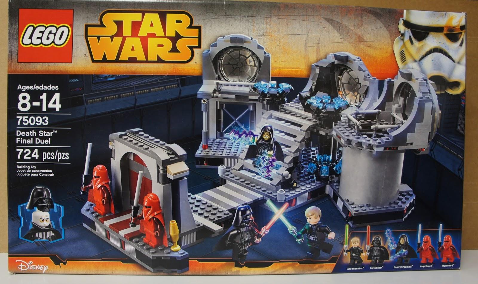 Lego death star final duel instructions