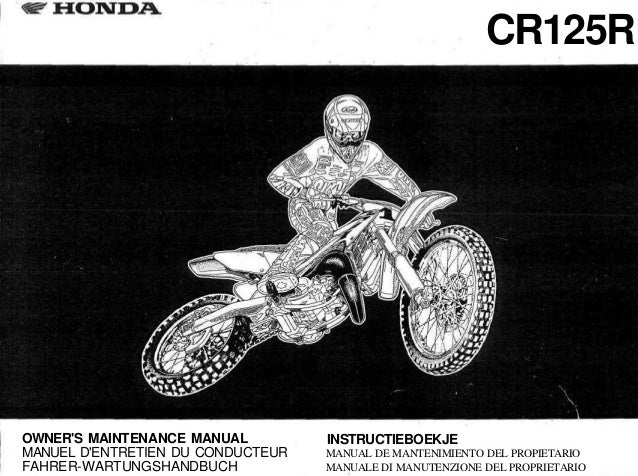 honda crf 1000 owners manual
