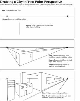 2 point perspective lesson pdf