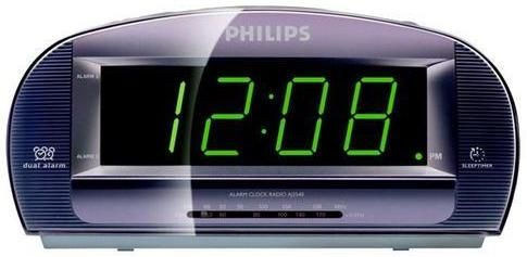 philips alarm clock radio instructions