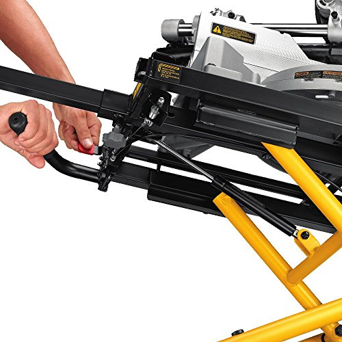 dewalt miter saw stand instructions