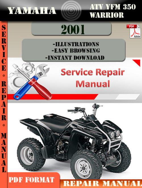 yamaha warrior 350 service manual pdf