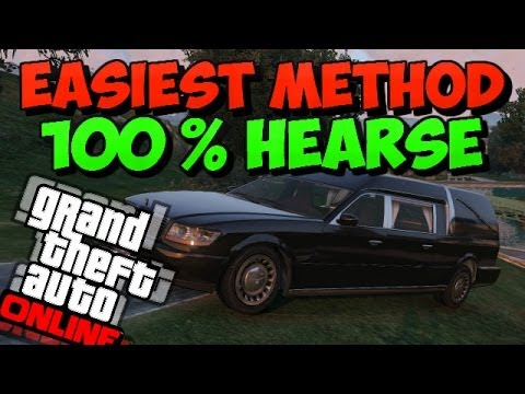 Gta 5 how to get hearse without coffin