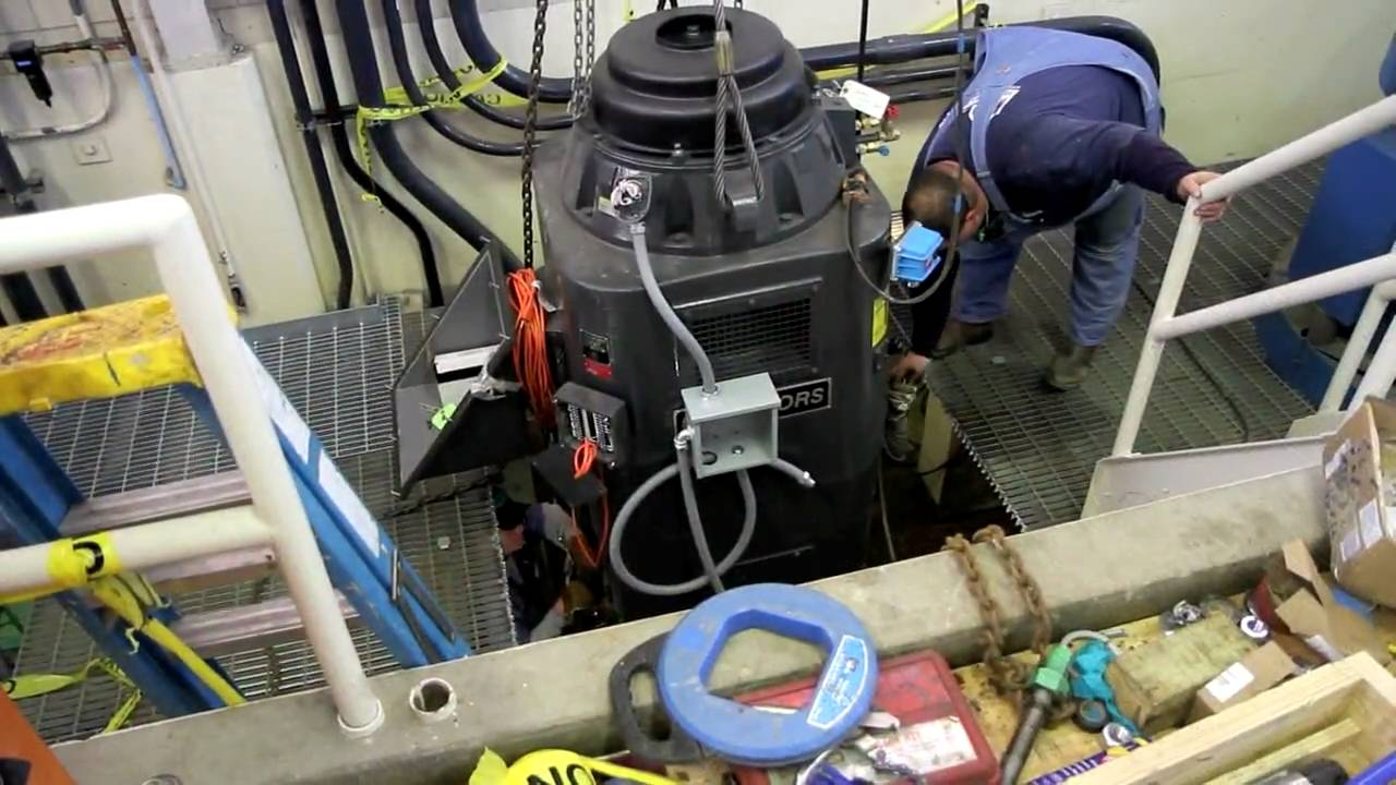 Vertical turbine pump installation manual