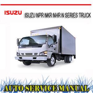 isuzu nkr 250 3.6 workshop manual