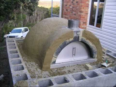 pizza oven building instructions