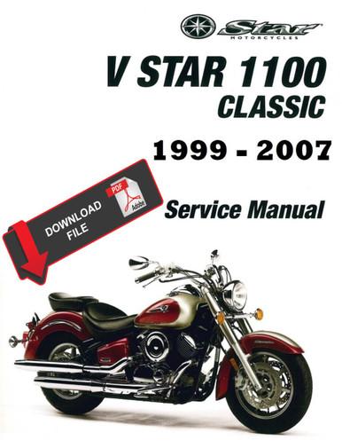 2001 v star classic 250 manual