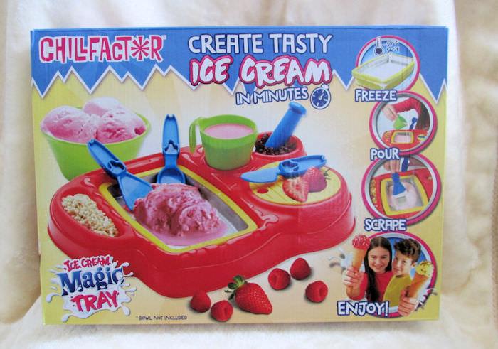 Chill factor magic ice cream tray instructions