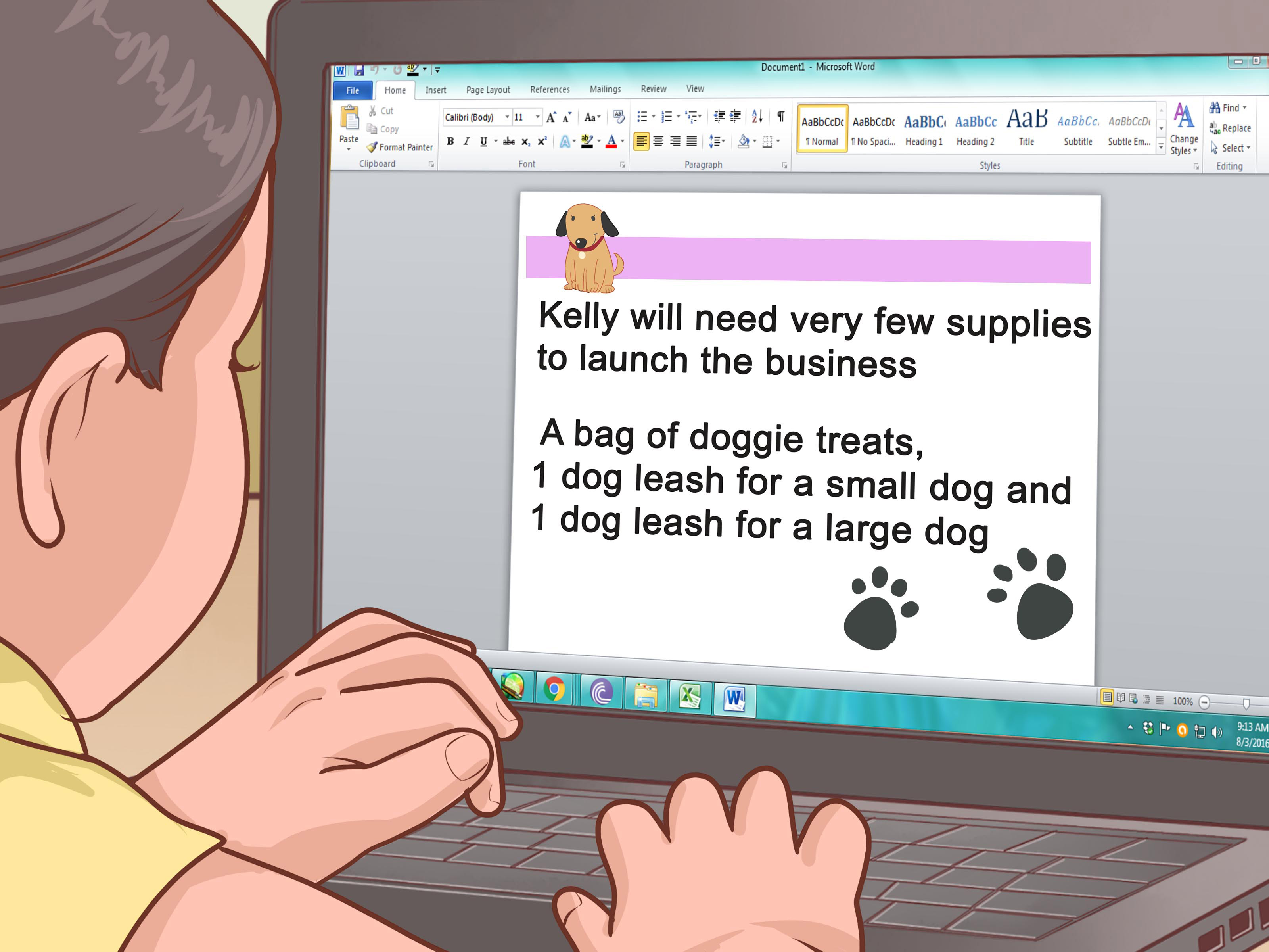 how to instructions for kids