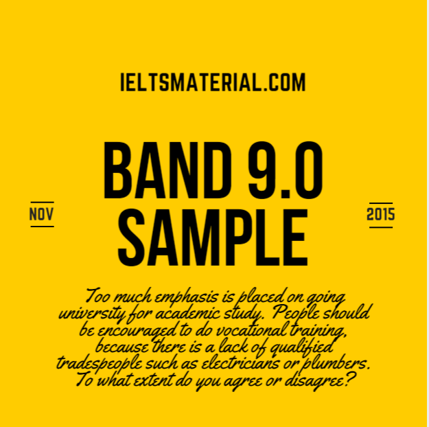 Ielts general writing task 1 samples band 9 pdf