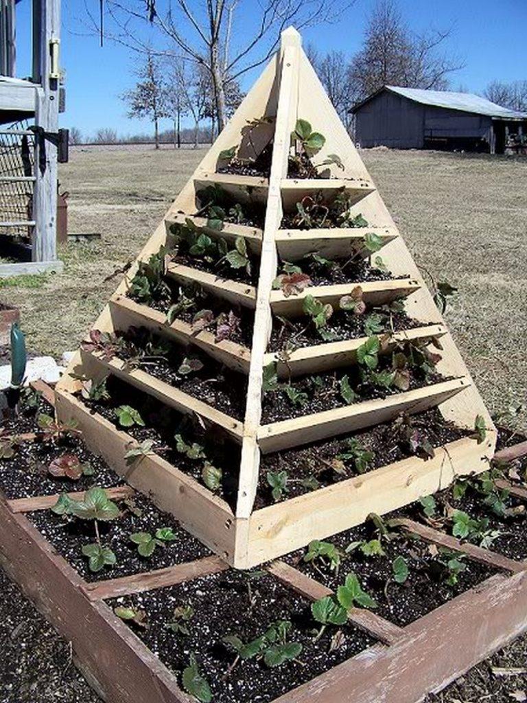 pyramid planter box instructions