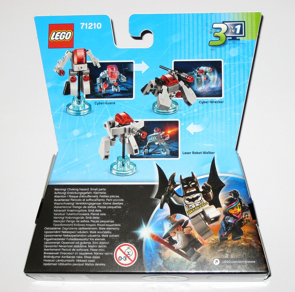 Lego dimensions 71210 how to make