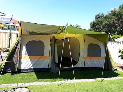 Jackaroo 8 person dome tent instructions
