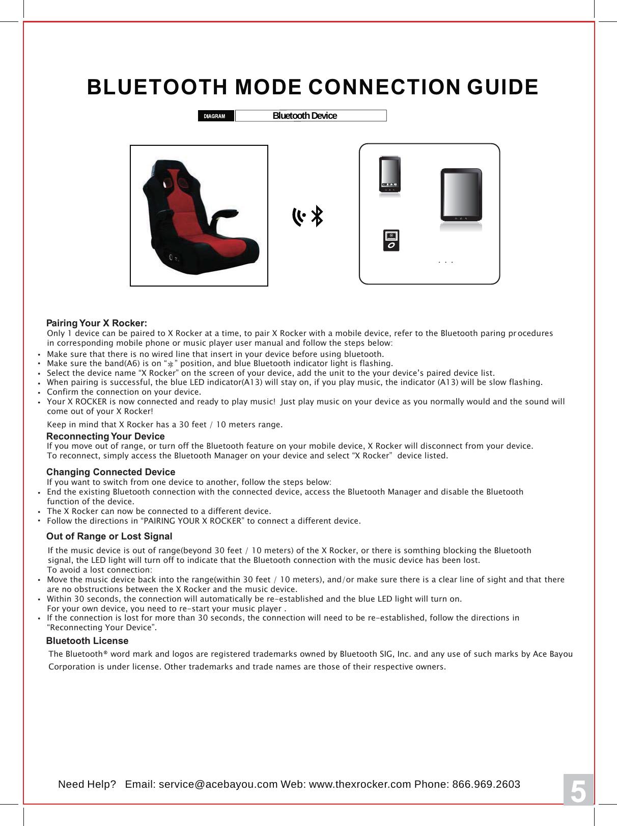 X rocker gaming chair manual