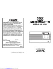 Nutone im 3303 installation manual