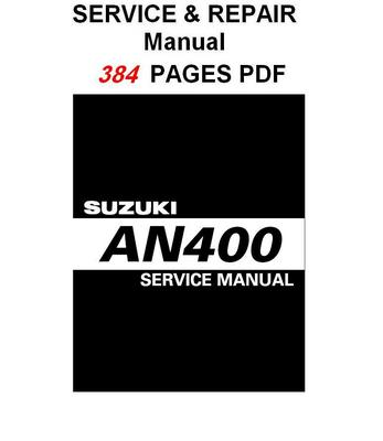 suzuki burgman 400 owners manual pdf download
