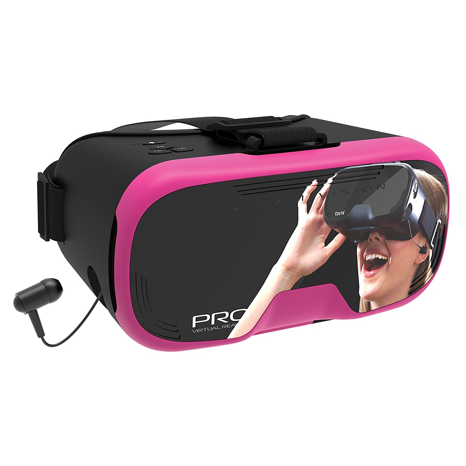 dream vision pro virtual reality smartphone headset instructions