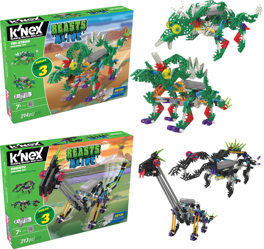 K nex dinosaur instructions