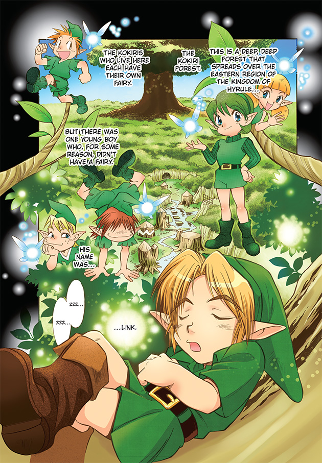 Ocarina of time manga pdf english