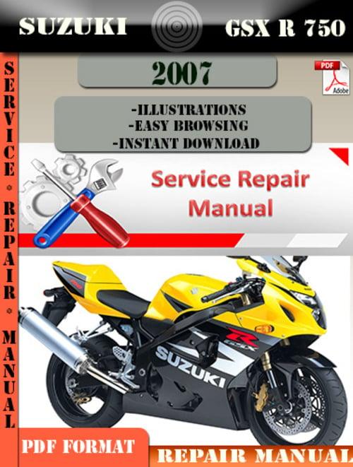 suzuki gsxr 750 service manual pdf