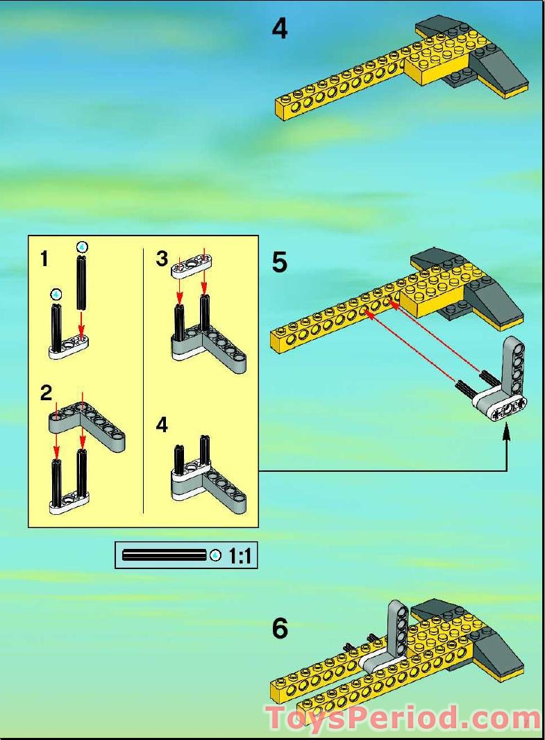 lego 7905 building instructions