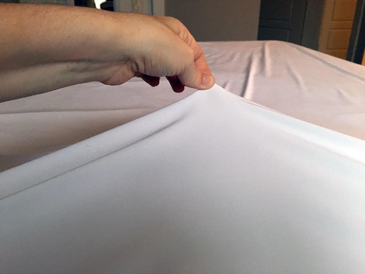 smartsilk mattress cover washin instructions