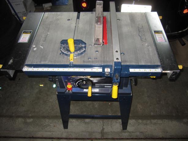 mastercraft hawkeye laser table saw manual