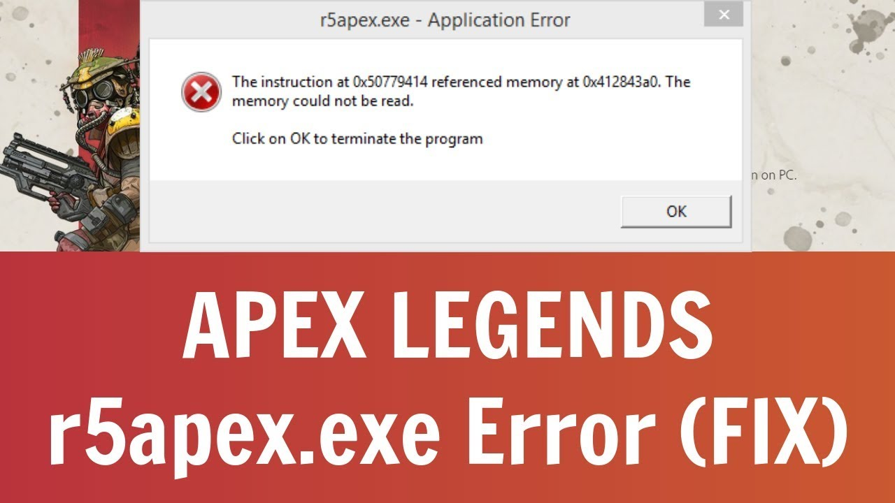 Tslgame exe application error fix