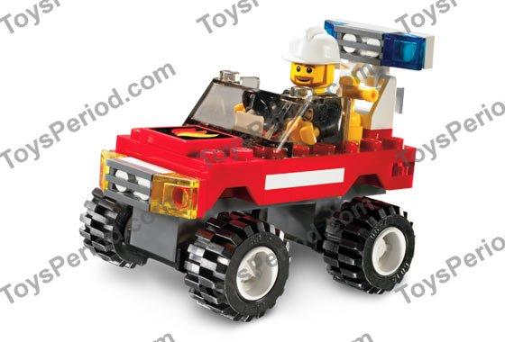 lego fire car 7241 instructions
