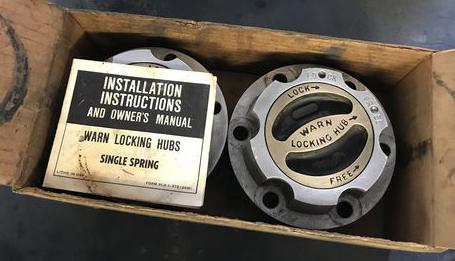 warn locking hubs installation instructions