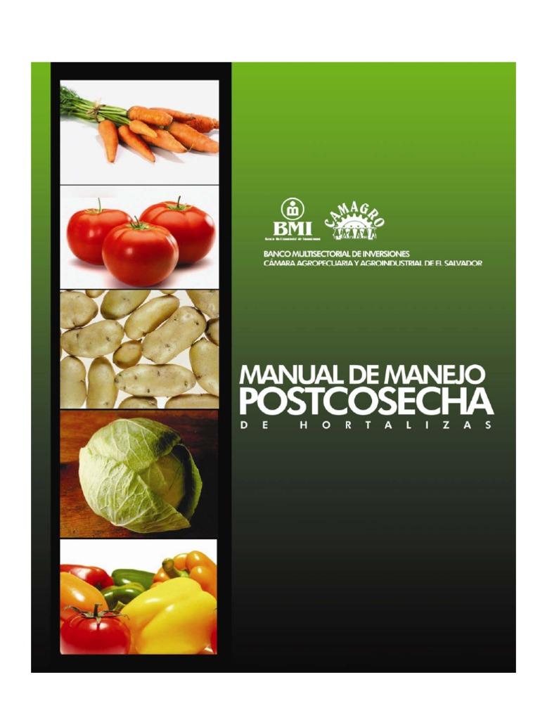 Manejo postcosecha de frutas y hortalizas pdf