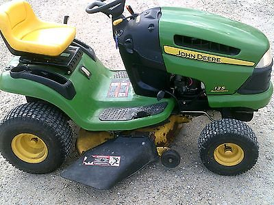 John deere 125 lawn tractor owners manual